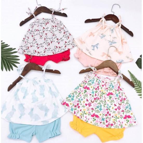 Baby Girl Cotton Set