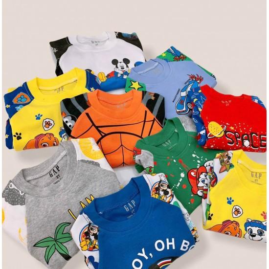 Boy's GAP Cotton Playset 14 colors