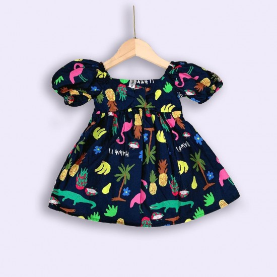 Baby Girls Dress Colorful
